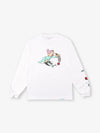 Dopey Long Sleeve Tee - White