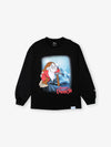 Grumpy Long Sleeve Tee - Black