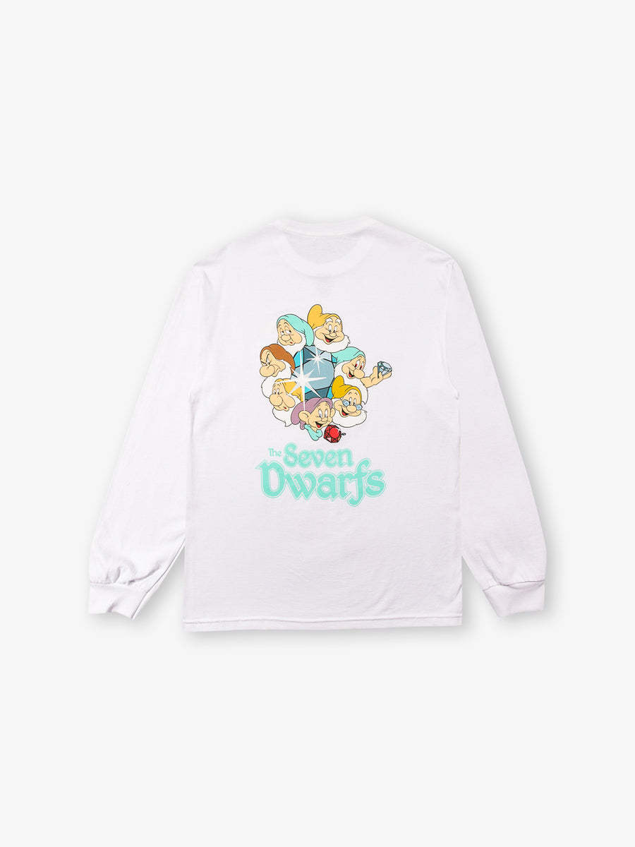 Dwarfs Long Sleeve Tee - White