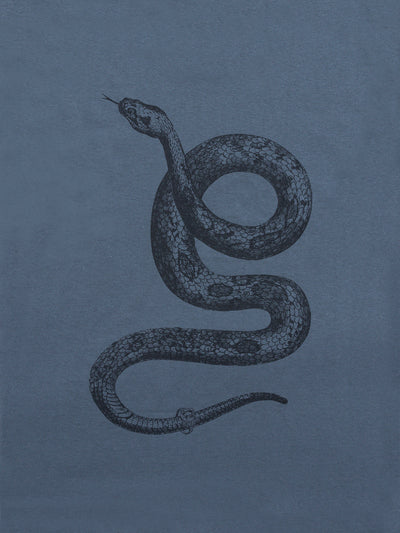 Cold Blooded Tee - Charcoal