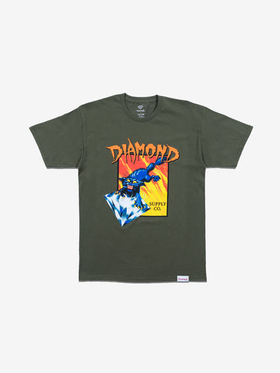 Greed Tee - Green, Fall 2019 -  Diamond Supply Co.