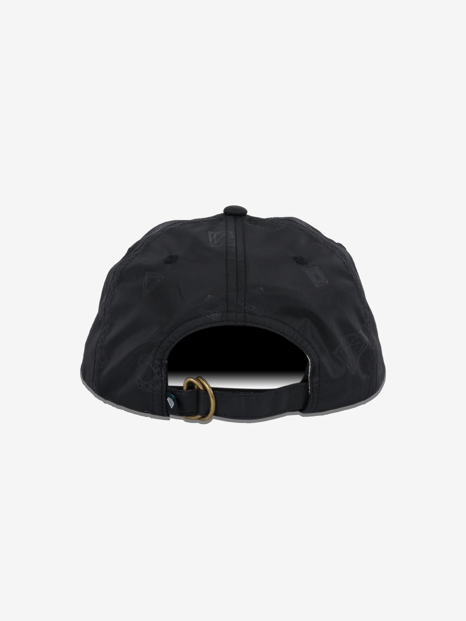 Monogram Strapback Hat - Black