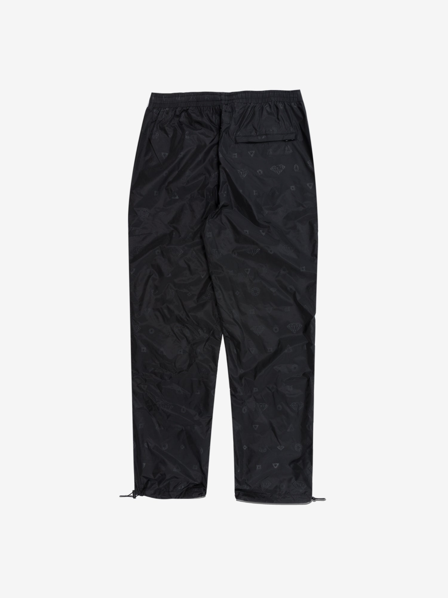 Monogram Track Pants - Black