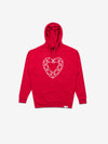 Heart Cut Hoodie - Red, Fall 2019 -  Diamond Supply Co.