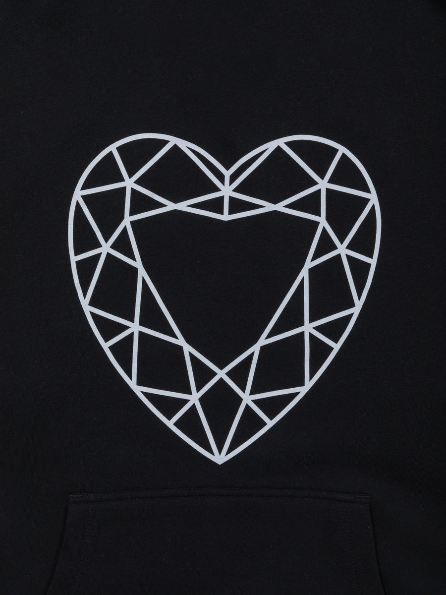 Heart Cut Hoodie - Black, Fall 2019 -  Diamond Supply Co.