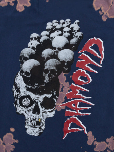 Burial Ground Tee - Navy Acid, Fall 2019 -  Diamond Supply Co.