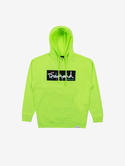 Colors Box Logo Hoodie - Neon, Fall 2019 -  Diamond Supply Co.