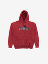 Burial Ground Hoodie - Red Crystal Wash, Fall 2019 -  Diamond Supply Co.