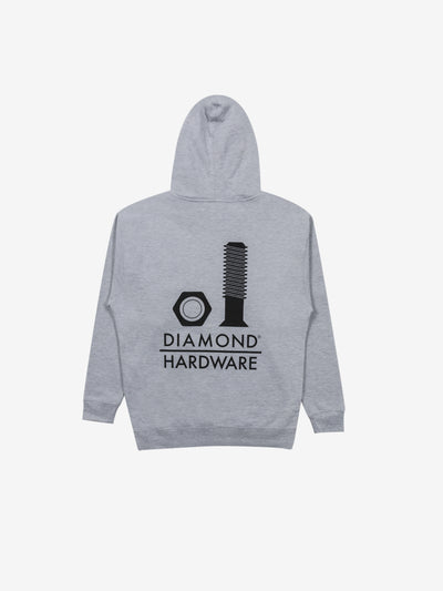 Secured Hoodie - Grey, Fall 2019 -  Diamond Supply Co.