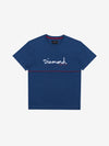 Hard Cut Tee - Navy