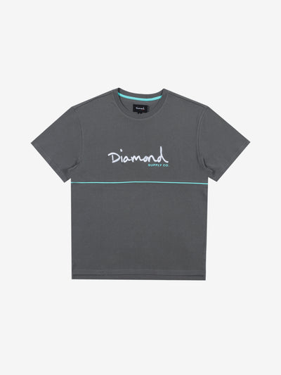 Hard Cut Tee - Grey