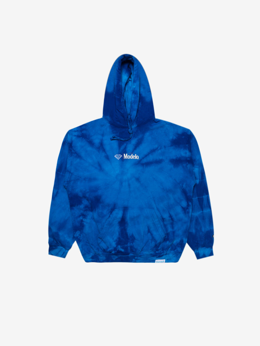 Diamond x Modelo Calavera Hoodie - Tie Dye, Modelo -  Diamond Supply Co.
