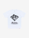 Diamond x Modelo Dia De Los Muertos Tee - White, Modelo -  Diamond Supply Co.