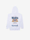 Diamond x Modelo Especial Hoodie - White, Modelo -  Diamond Supply Co.