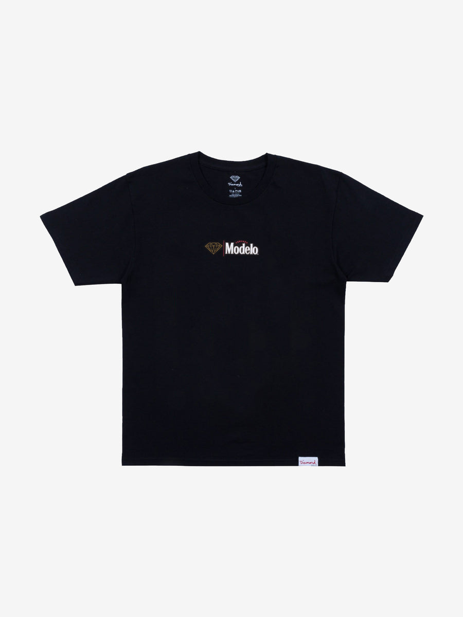 Diamond x Modelo Especial Tee - Black