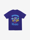 Diamond x Modelo Neon Sign Tee - Purple, Modelo -  Diamond Supply Co.