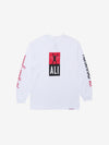 Diamond x Ali Fight Longsleeve - White, Ali -  Diamond Supply Co.