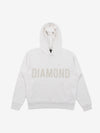 Brilliant Overdyed Oversized Hoodie - White, Fall 2019 -  Diamond Supply Co.