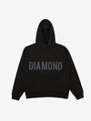 Brilliant Overdyed Oversized Hoodie - Black, Fall 2019 -  Diamond Supply Co.