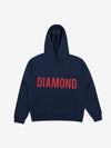 Brilliant Overdyed Oversized Hoodie - Navy, Fall 2019 -  Diamond Supply Co.