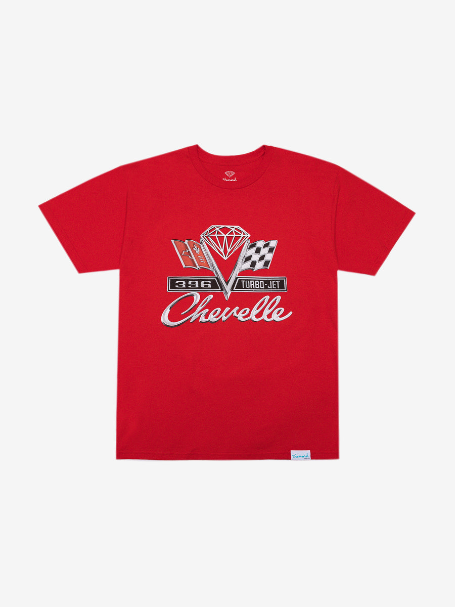 Diamond x Chevelle Emblem Tee - Red