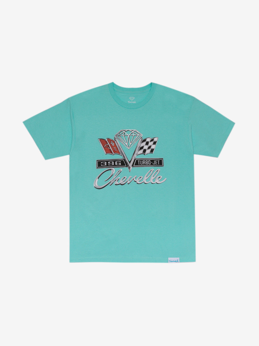 Diamond x Chevelle Emblem Tee - Diamond Blue