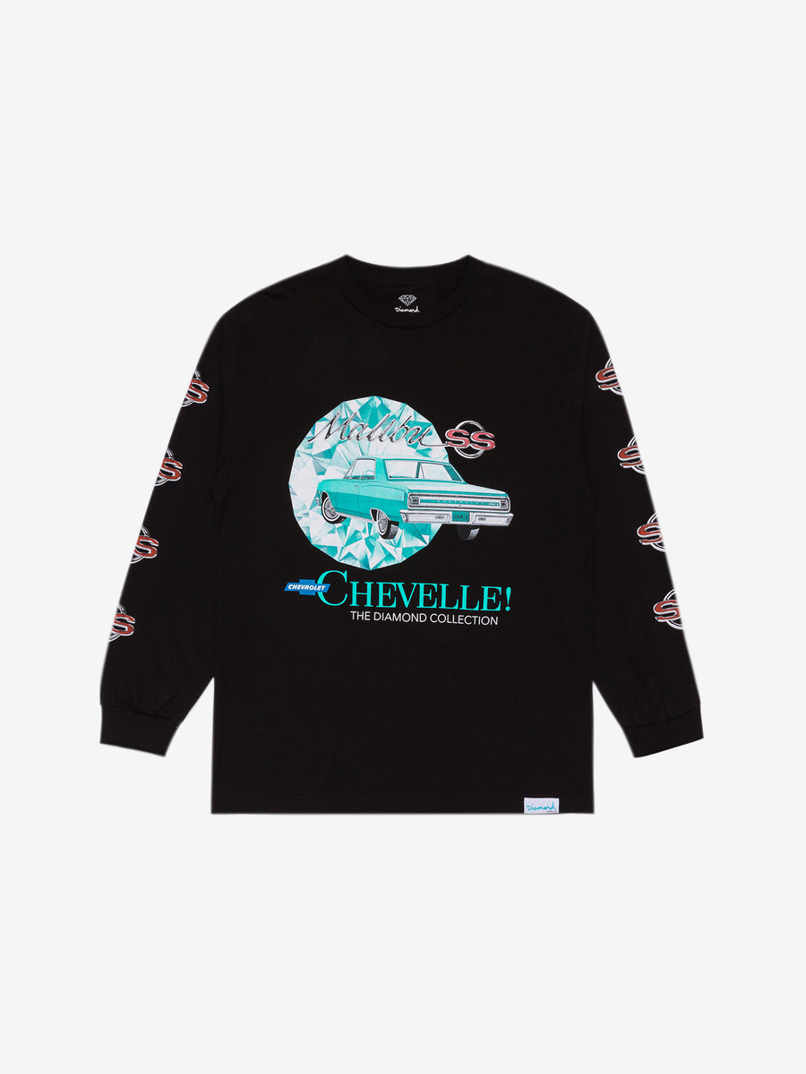 Diamond x Chevelle Malibu Longsleeve - Black