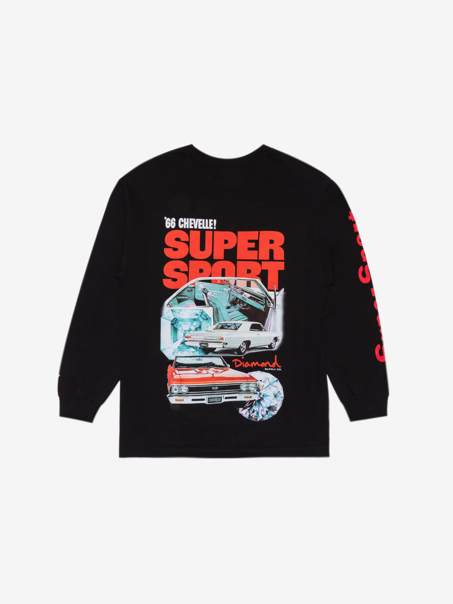 Diamond x Chevelle Super Sport Longsleeve Tee - Black