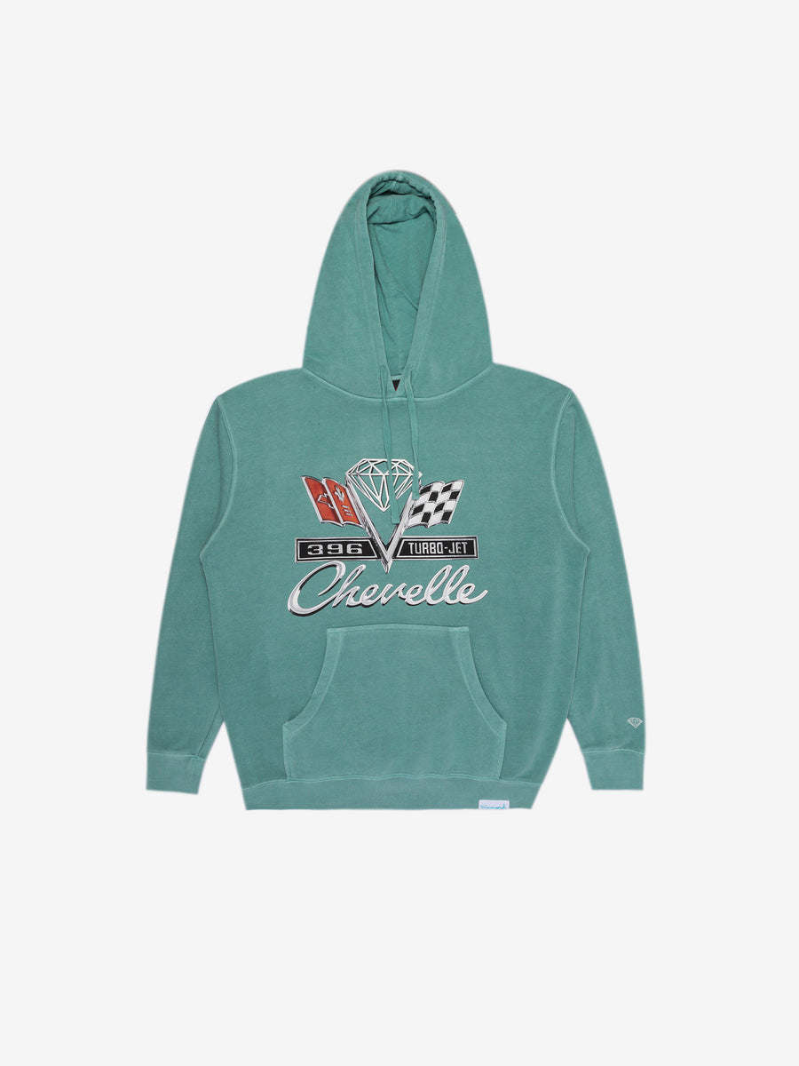 Diamond x Chevelle Emblem Hoodie - Diamond Blue