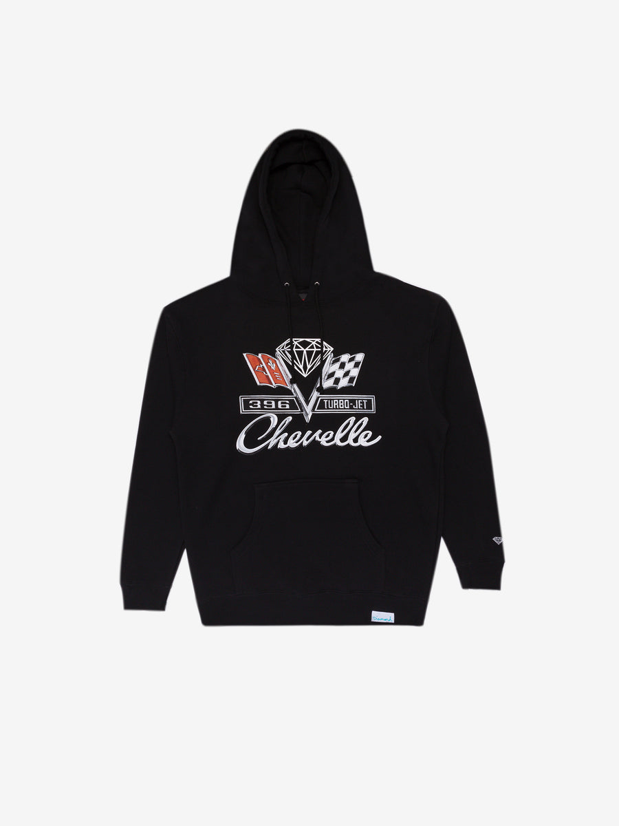Diamond x Chevelle Emblem Hoodie - Black