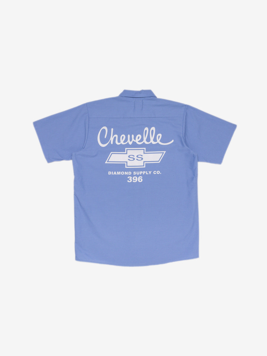 Diamond x Chevelle Big Block Woven - Light Blue