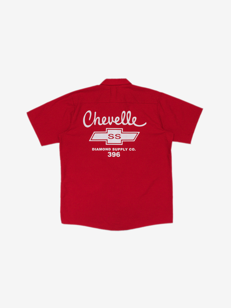 Diamond x Chevelle Big Block Woven - Red