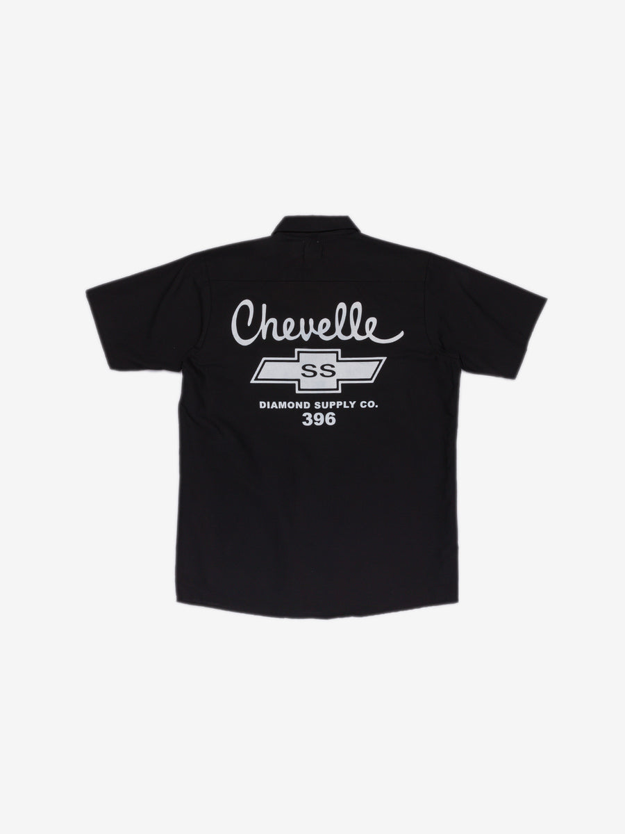 Diamond x Chevelle Big Block Woven - Black