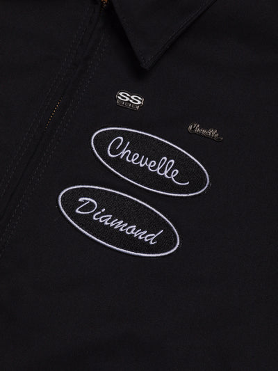 Diamond x Chevelle SS Jacket - Black, Chevelle -  Diamond Supply Co.