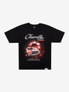 Diamond x Chevelle Cranberry Red Tee - Black