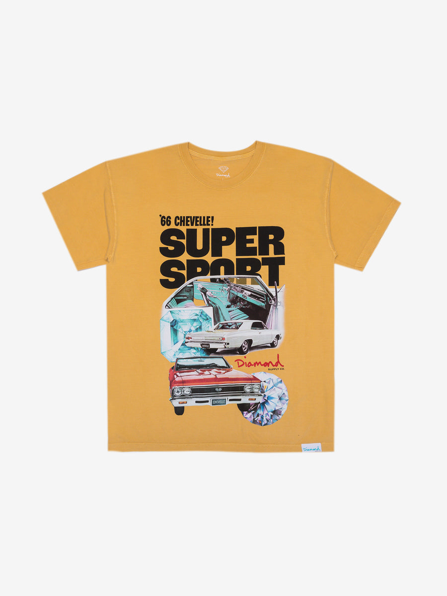 Diamond x Chevelle Super Sport Tee - Mustard
