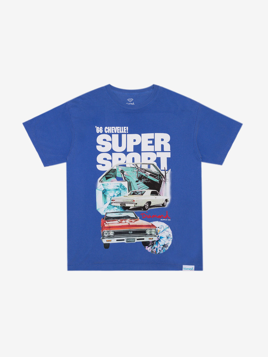 Diamond x Chevelle Super Sport Tee - Blue