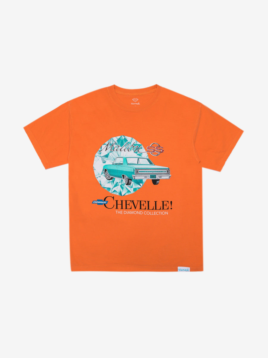 Diamond x Chevelle Malibu Tee - Orange