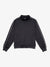 Monogram Mock Neck Jacket - Black