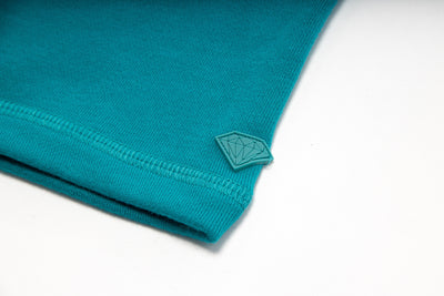 Collegiate Mock Neck Jacket - Teal