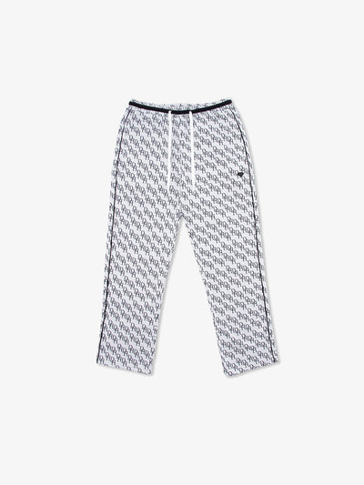 Monogram Pants - Heather Grey