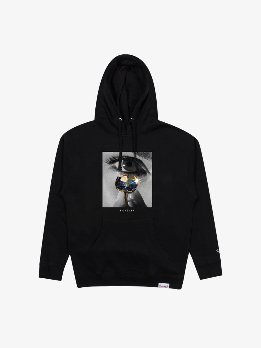 Eye Diamond Hoodie - Black