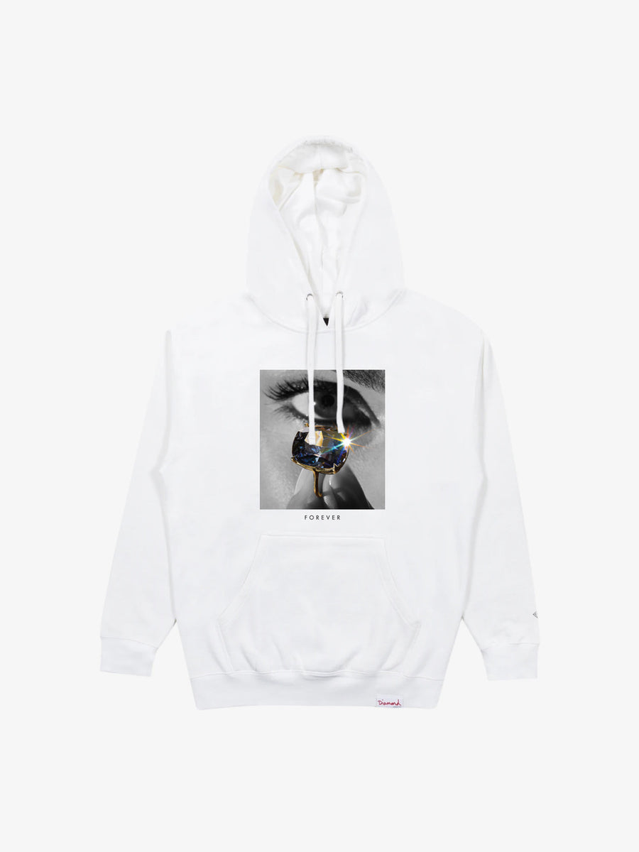 Eye Diamond Hoodie - White