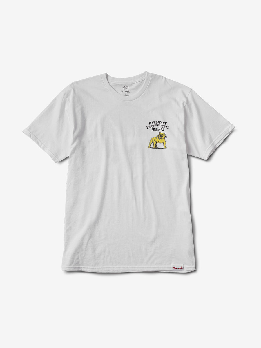 Bulldog Tee - White