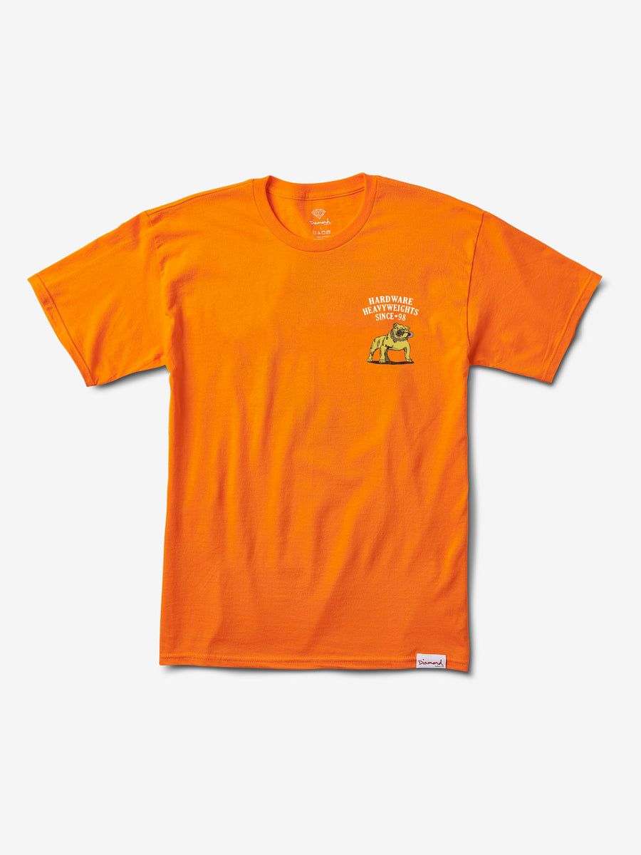 Bulldog Tee - Orange