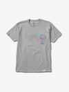 Passport Tee - Heather Grey