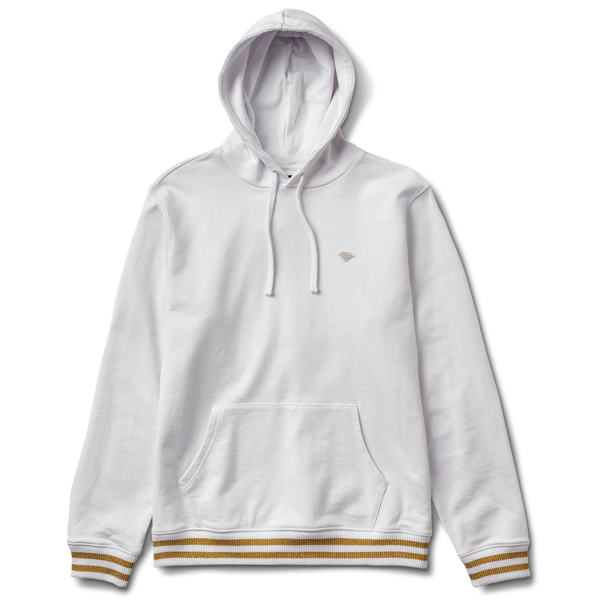 21be50b43 Brilliant Gold Patch Hoodie, Spring 2018 Delivery 2 Cut-N-Sew - Diamond