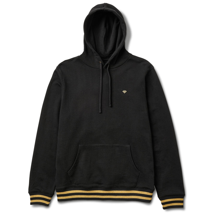 Brilliant Gold Patch Hoodie