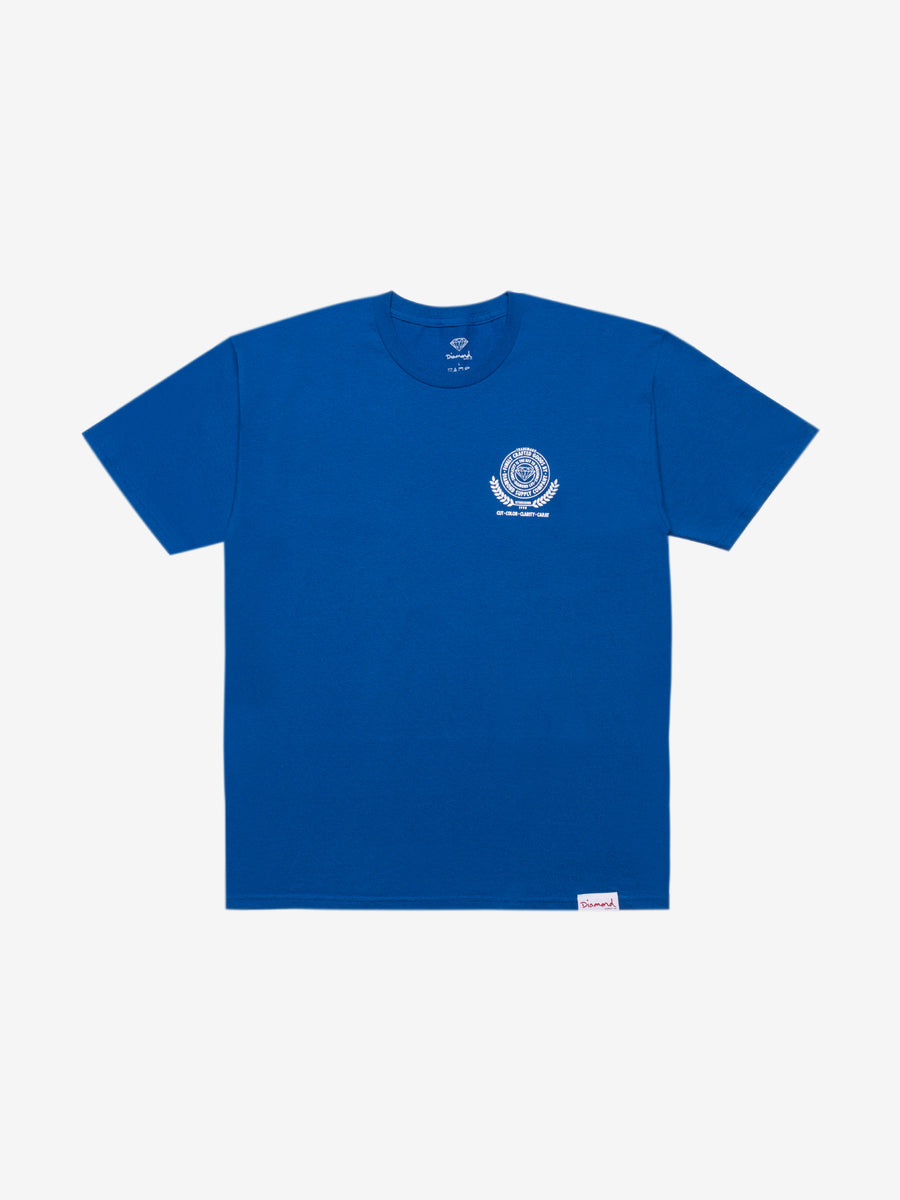 Diamond Crafted Goods Tee - Royal Blue