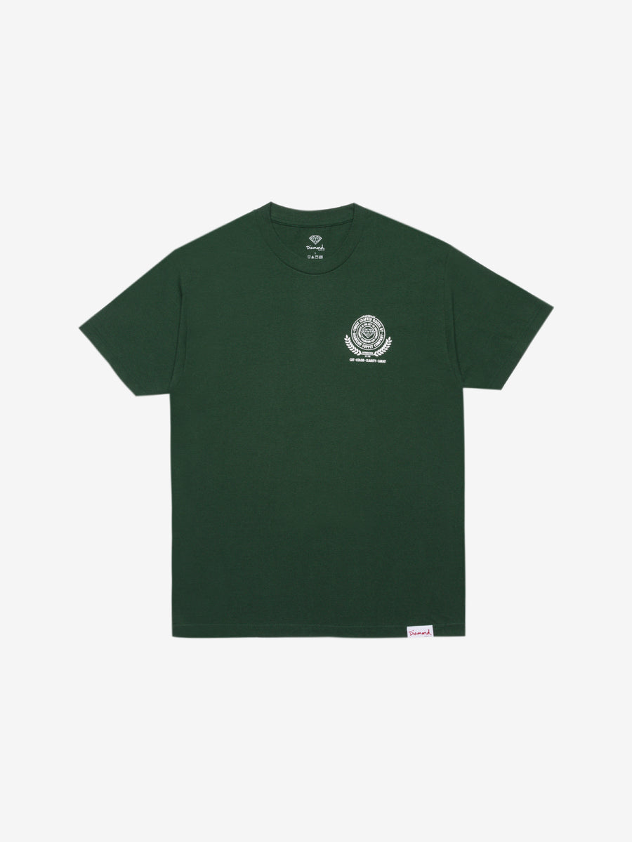 Diamond Crafted Goods Tee - Forest Green